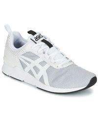 Asics White Gel-lyte Runner Shoes (trainers) for men