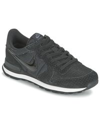 Nike - Black Internationalist W Shoes (trainers) - Lyst