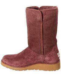 Ugg - Purple Women's Amie Water-resistant Twinface Sheepskin Boot - Lyst