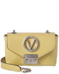 Valentino By Mario Valentino Green Lola Madras Leather Crossbody