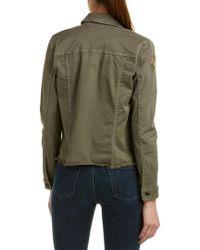 Joe's Jeans Green The Military Crop Jacket