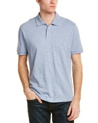Vince Blue Classic Polo Shirt for men