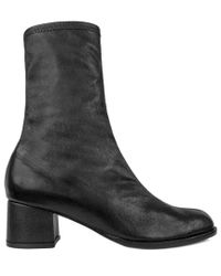 Archive Shoes Black Greenwich Leather Boot