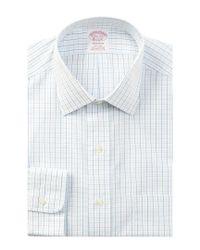 Brooks Brothers Purple Non-iron Madison Fit Dress Shirt for men