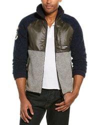 Superdry Mointain Sherpa Black Jacket for men