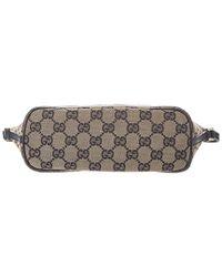 Gucci Multicolor Black Gg Supreme Canvas & Leather Pochette