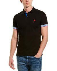 Roberto Cavalli Black Polo Shirt for men