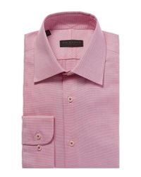 Ike Behar - Pink Dress Shirt for Men - Lyst