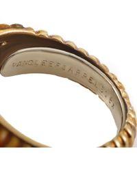 Heritage Van Cleef & Arpels Metallic Van Cleef & Arpels 18k 0.17 Ct. Tw. Diamond & Tiger's Eye Ring