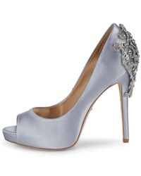 Badgley Mischka Metallic Karolina Pump