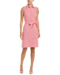 J.McLaughlin Pink Catalina Cloth Sheath Dress