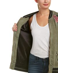 BILLY T Green Embroidered Jacket