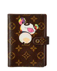 Louis Vuitton Multicolor Limited Edition Takashi Murakami Panda Monogram Canvas Agenda Pm