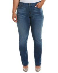 NYDJ Blue Plus Marilyn Nomad Straight Leg