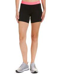Nike Black Pro Dri-fit Short 5 In