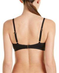 Kensie - Black Bikini Top - Lyst