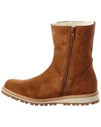 Aigle Brown Women's Bootnut Suede Boot