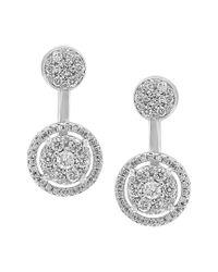Effy Metallic Fine Jewelry 14k 1.40 Ct. Tw. Diamond Drop Earrings
