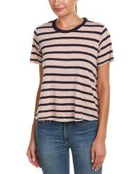 Velvet By Graham & Spencer Pink Tiana T-shirt