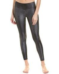Koral Black Activewear Sway Mid-rise Legging