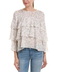 Paper Crown White Ruth Top