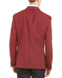 Flynt - Red Q By Booth Modern Fit Wool & Linen-blend Sport Coat for Men - Lyst