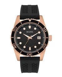 Bulova Multicolor Men's Silicone Watch for men