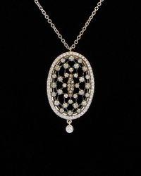 Meira T - Black 14k 1.47 Ct. Tw. Diamond Necklace - Lyst