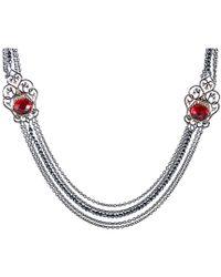 Stephen Webster - Metallic 20.30 Ct. Tw. Silver Quartz Necklace - Lyst