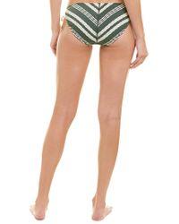 Robin Piccone Green Livvy Side-tie Bottom