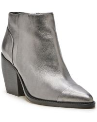 Sole Society Multicolor Maevel Leather Bootie