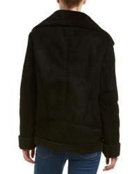 Vigoss Black Asymmetrical Jacket