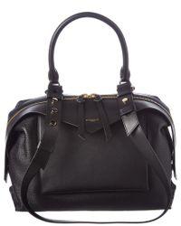 Givenchy Black Medium Sway Leather Shoulder Bag
