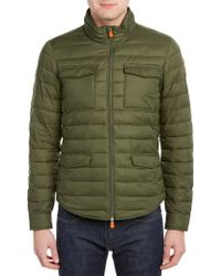 Save The Duck - Green Jacket for Men - Lyst