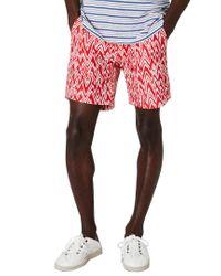 Onia Red Calder Swim Short for men