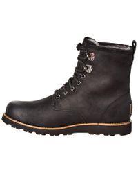 Ugg Metallic Hannen Suede & Wool-lined Waterproof Boot for men