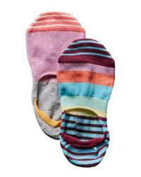 Happy Socks - Pink Women's Pack Of 2 Liner Socks - Lyst