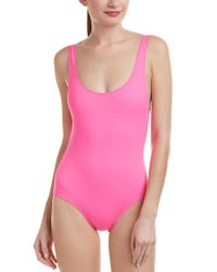 Solid & Striped Pink Anne-marie One-piece