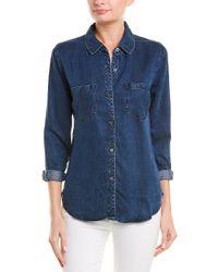 Rails Blue Carter Shirt
