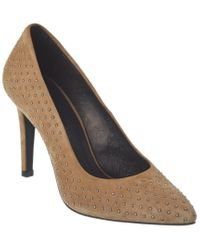 The Kooples Natural Suede Pump