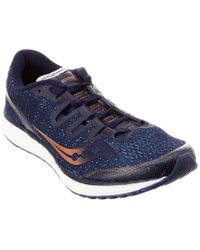 Saucony Blue Freedom Iso Running Shoe for men