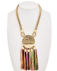 Trina Turk Metallic Mojito Nights Necklace
