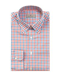 Canali | Red Dress Shirt for Men | Lyst