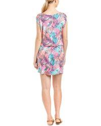 Tori Richard Multicolor Blouson Dress