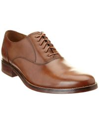Cole Haan Brown Madison Leather Oxford for men