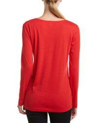 Joan Vass Red T-shirt