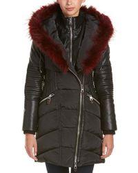 Nicole Benisti Black Quilted Coat