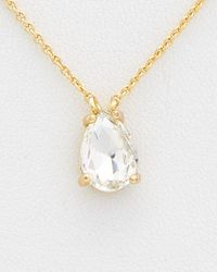 Rebecca Minkoff - Metallic Crystal Vette Choker Necklace - Lyst