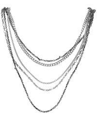 Stephen Webster Metallic Silver Necklace