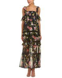 Nicholas Multicolor Silk Maxi Dress